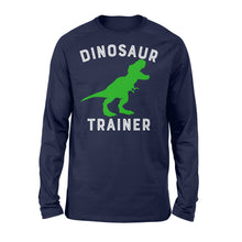 Load image into Gallery viewer, Dinosaur Trainer T-Rex - Standard Long Sleeve Apparel S / Navy