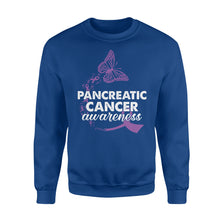 Load image into Gallery viewer, Pancreatic Cancer Awareness - Standard Fleece Sweatshirt Apparel S / Royal
