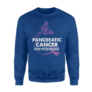 Pancreatic Cancer Awareness - Standard Fleece Sweatshirt Apparel S / Royal