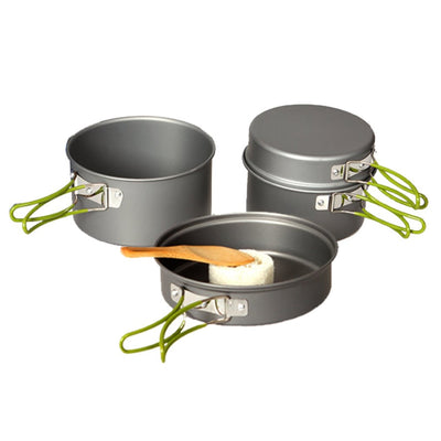 Domex Anodised Cook Set (4 piece)