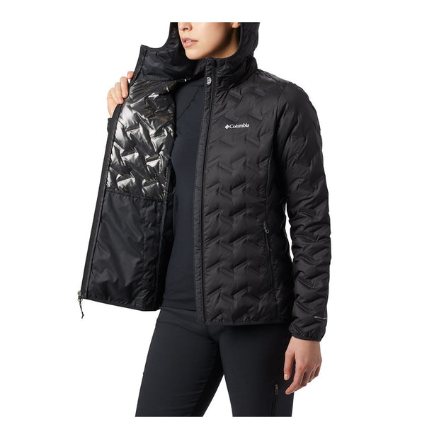 Womens Columbia Delta Ridge Hooded Down Jacket