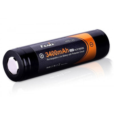 Fenix Battery 18650 3400mAh Rechargeable