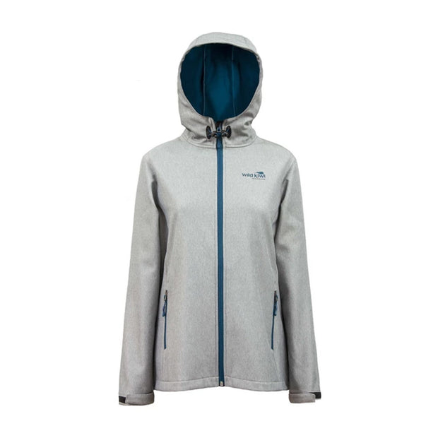 Womens Wildkiwi TechShell Jacket Grey