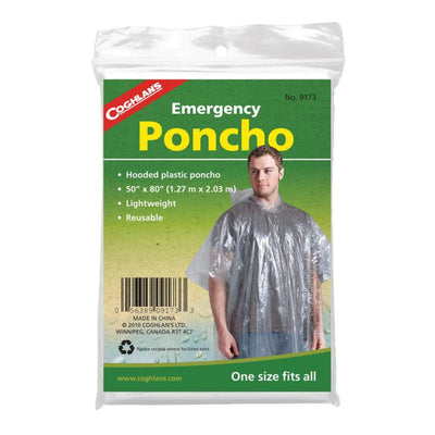 Emergency Poncho (clear)