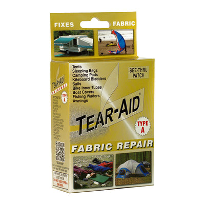 Tear-Aid Type A (Not PVC or Vinyl)