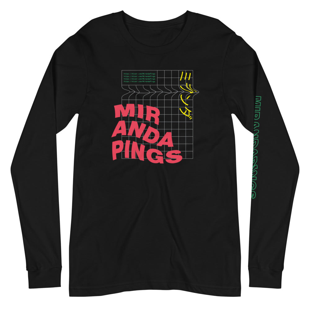 Digital MirandaPings Long Sleeve Tee