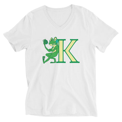 KermitTFrog14 Woman's V-Neck T-Shirt
