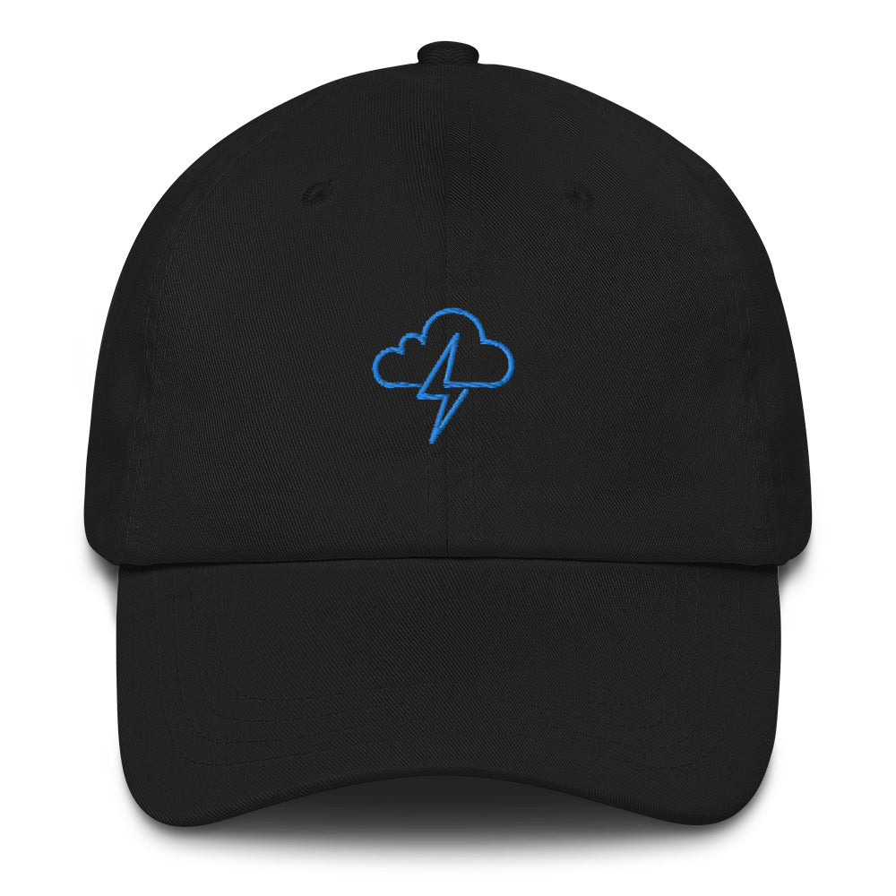 Cloud Spark Outline Dad hat