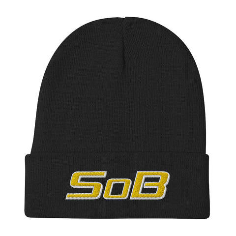 SOB Embroidered Beanie