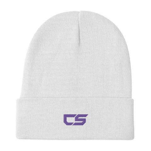 CS Logo Embroidered Beanie