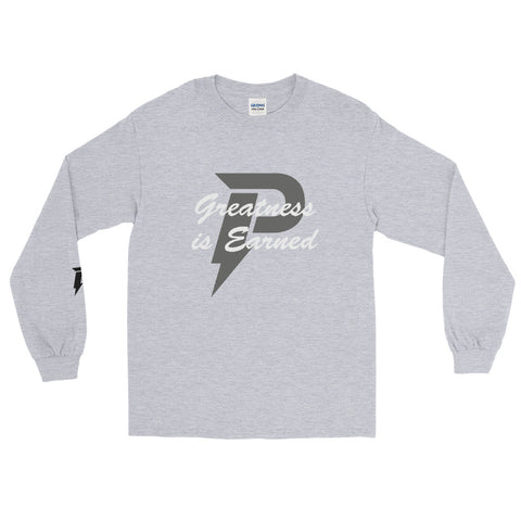 Greatness is Earned Long Sleeve (Grey)