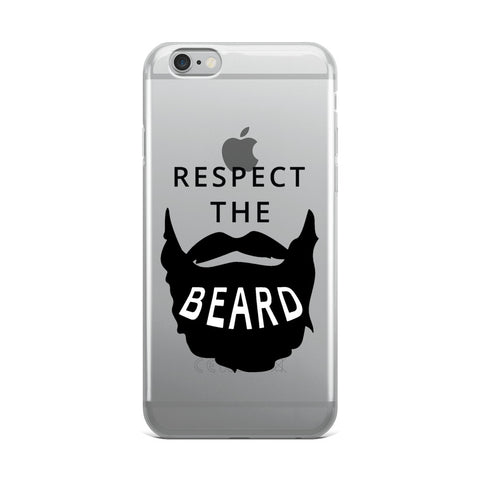 Respect the Beard iPhone Case