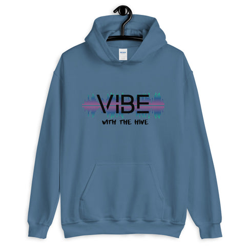 Vibe With The Hive Unisex Hoodie