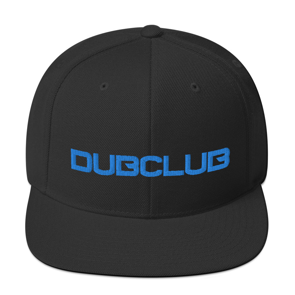 Dub Club Text Snapback Hat