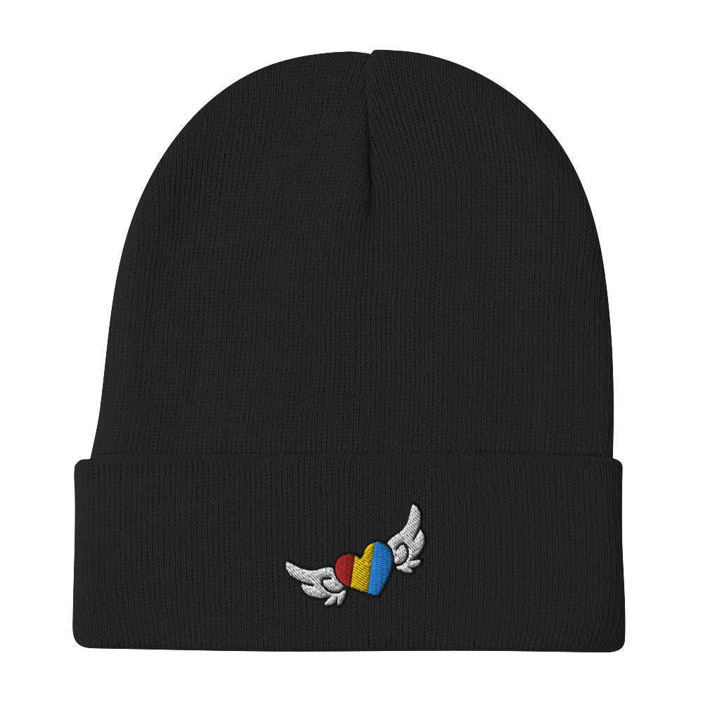 ChicaDeAwesome Embroidered Beanie