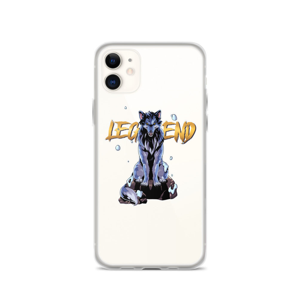 Wolf Legend iPhone Case