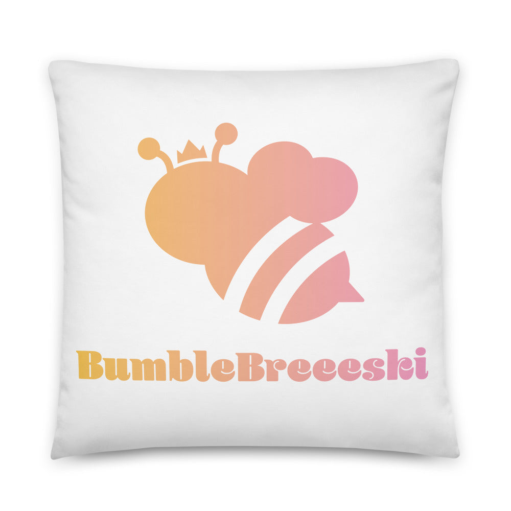 BumbleBreeeski Pillow