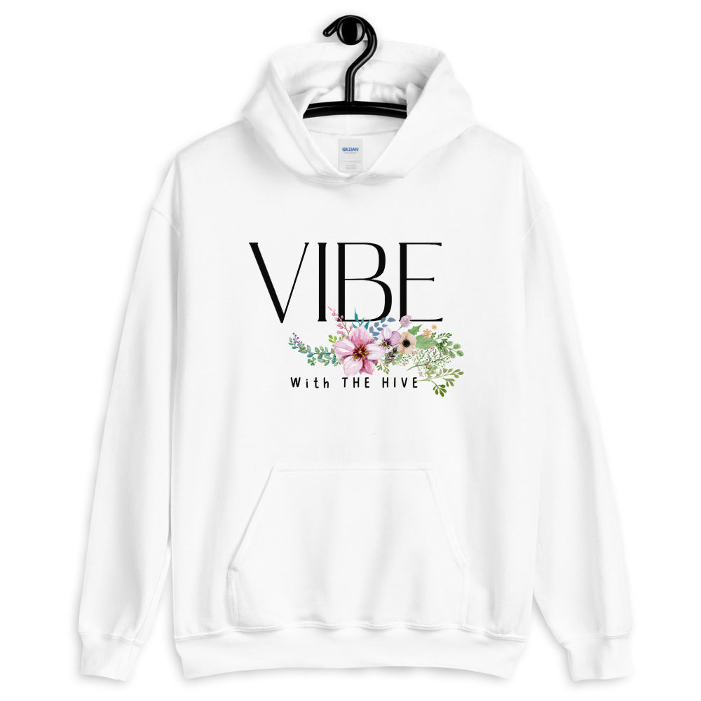 Vibe With the Hive Flower Hoodie