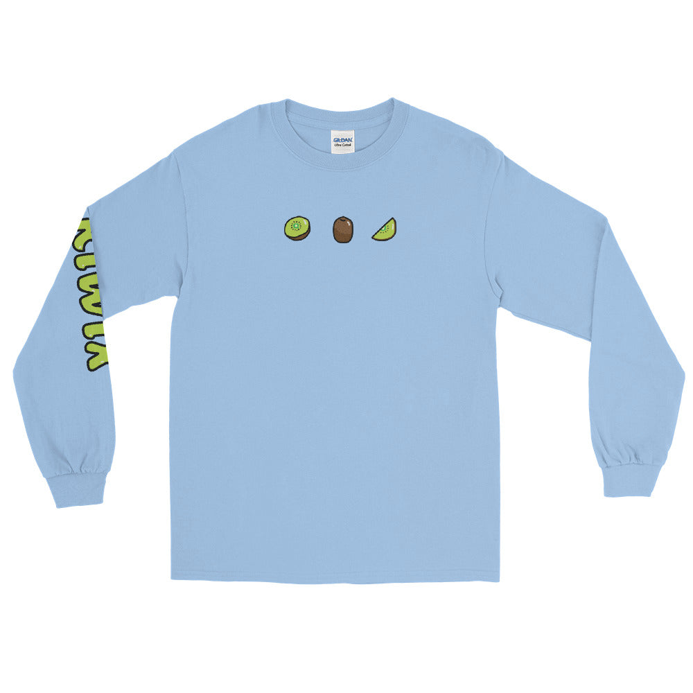 Blue 3 Fruit Long Sleeve Shirt