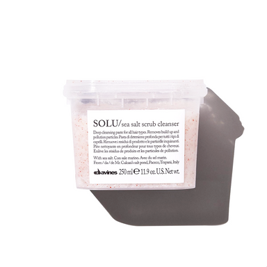 SOLU Sea Salt Scrub Cleanser - Brush Salon