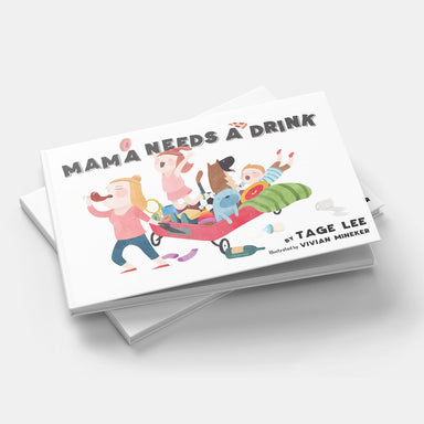 Mama Needs A Drink - Brush Salon