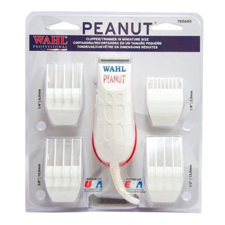 Peanut Clipper / Trimmer White - Brush Salon