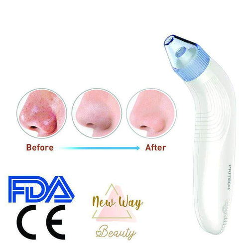 New Way Beauty Blackhead & Pore Cleansor Blackhead Removal Vacuum and Pore Cleanser | 2 in 1 Dual Action