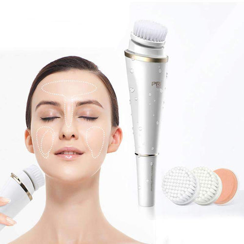 New Way Beauty Deep cleansing electric face brush | dual vibration and rotation