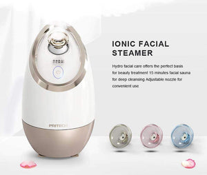 New Way Beauty Nano Ionic Facial Steamer with Sensor Touch ON/OFF Control