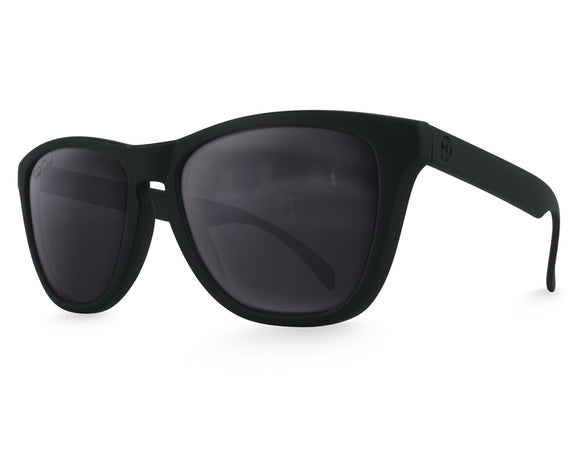 Black Modern Wayfarer Sunglasses