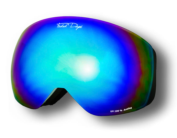 Blue Chill Ski Goggles