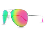 Pink Aviator Sunglasses