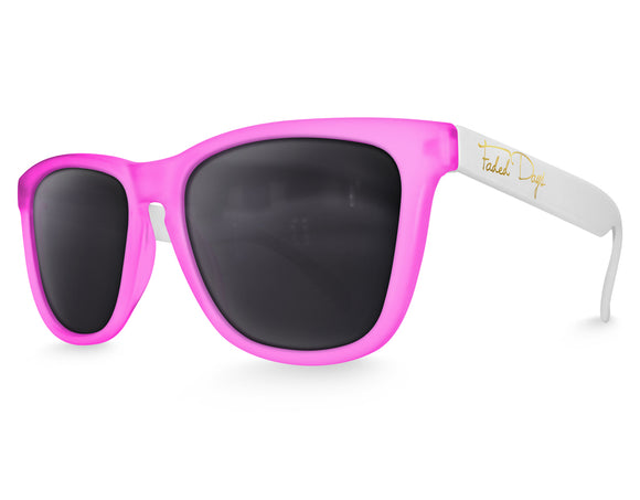 Polarized Pink Haze Sunglasses