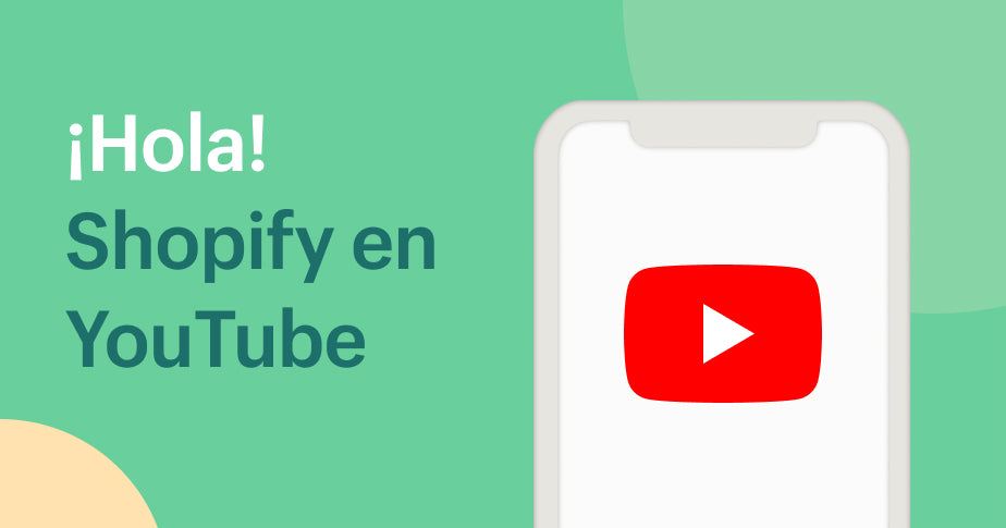 YouTube de Shopify en español