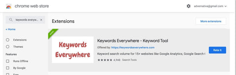 Keywords everywhere 2