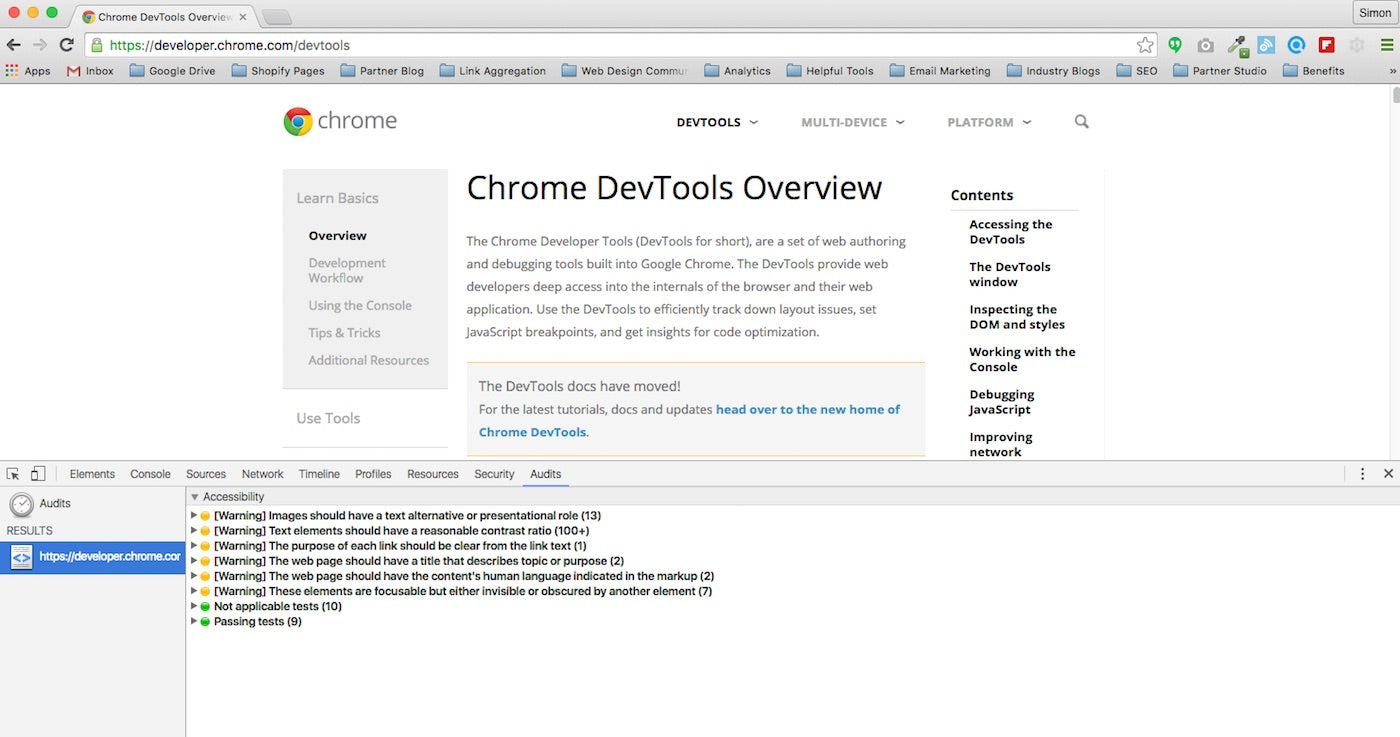 Developer Tools by Google