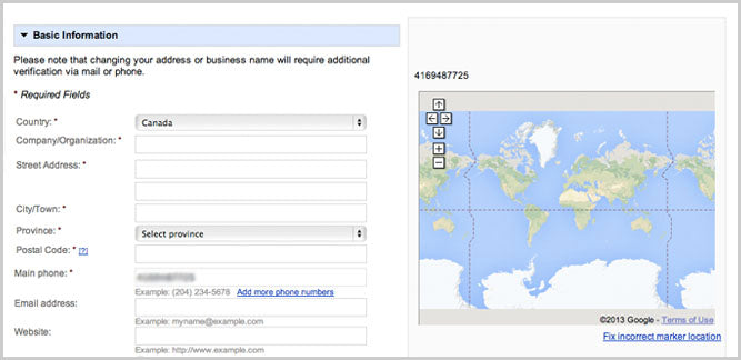 Geomarketing Con Google Places Shopify