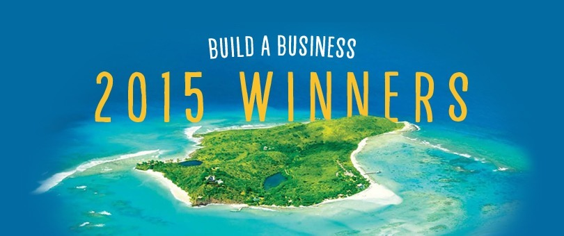 Ganadores del concurso Build a Business 2015