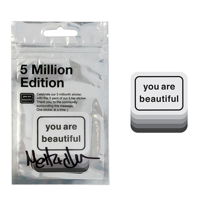 5 Million Edition Sticker