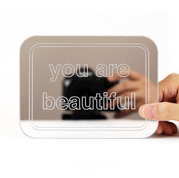 You Are Beautiful Mirror - Small