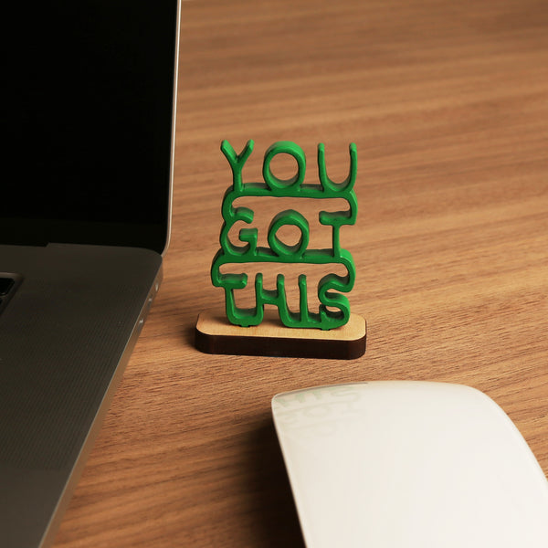You Got This - Stacked Mini Sculpture