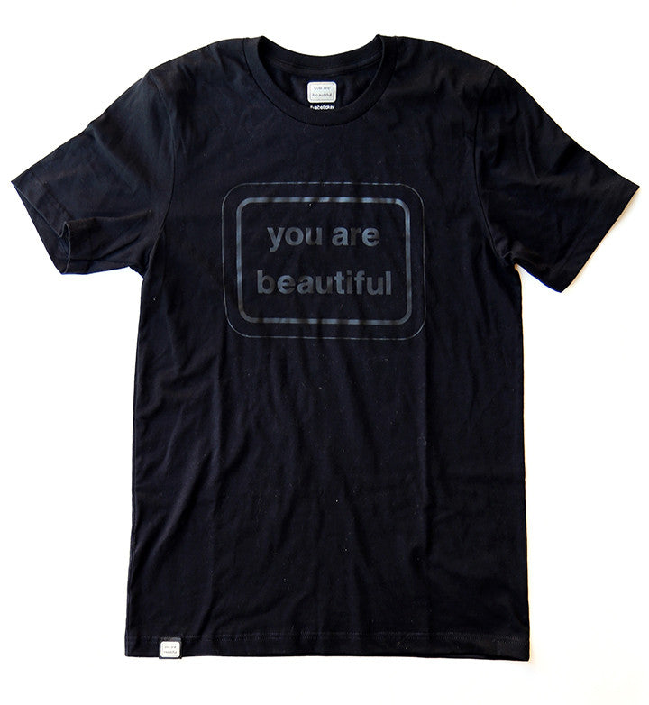 You Are Beautiful Classic Shirt - Black