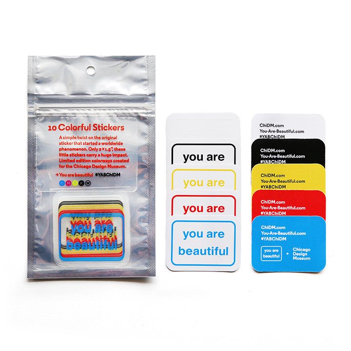 You Are Beautiful + ChiDM Clear Colorful Pack