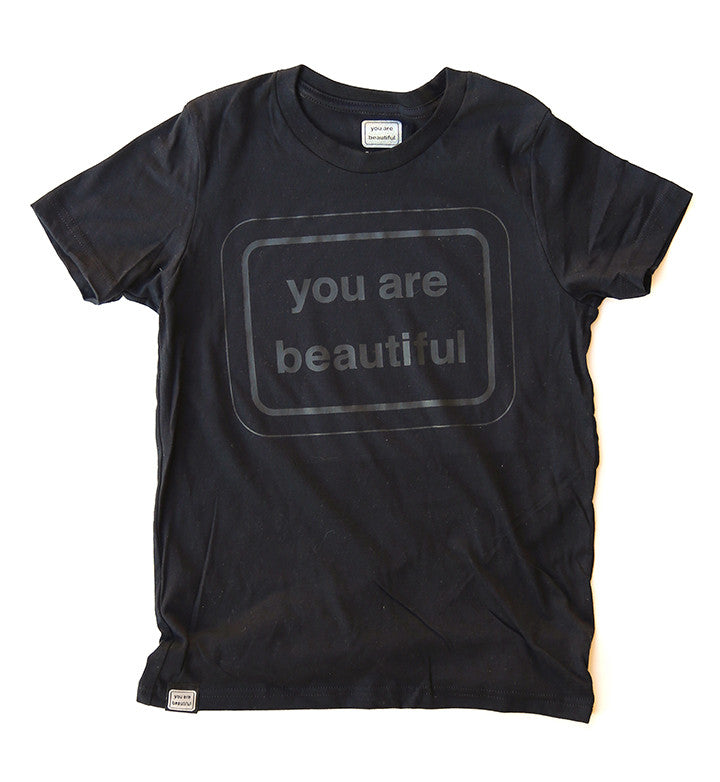 You(th) Are Beautiful Black Shirt