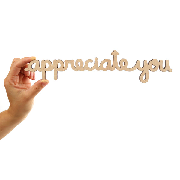 Appreciate You - Single Line