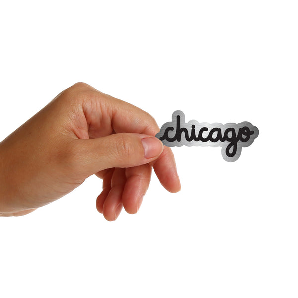 Chicago (silver) Stickers