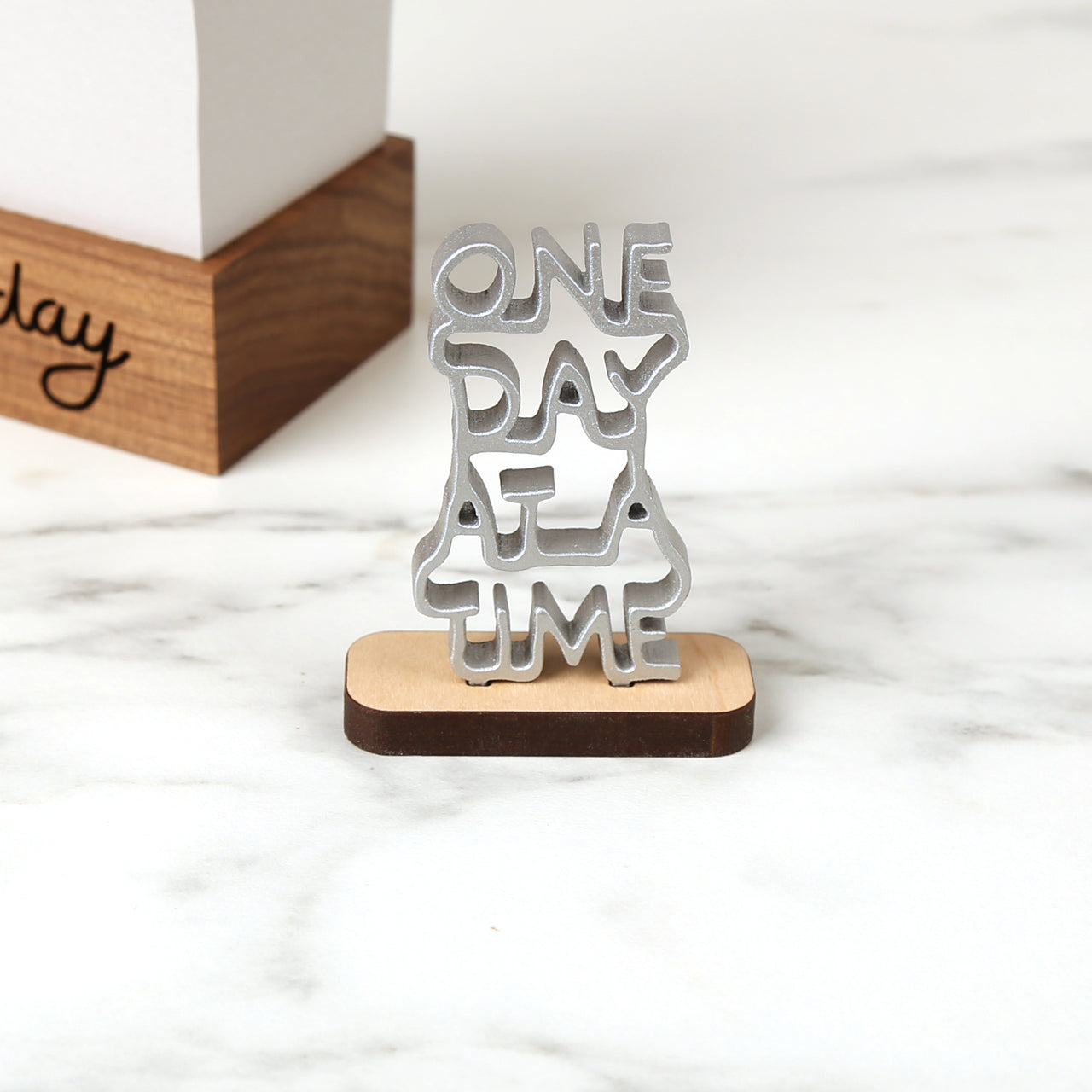 One Day At A Time - Mini Sculpture