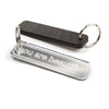 You Are Beautiful Mirrored Keychain