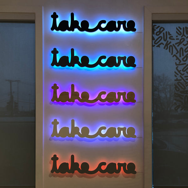 Take Care LED Single Line