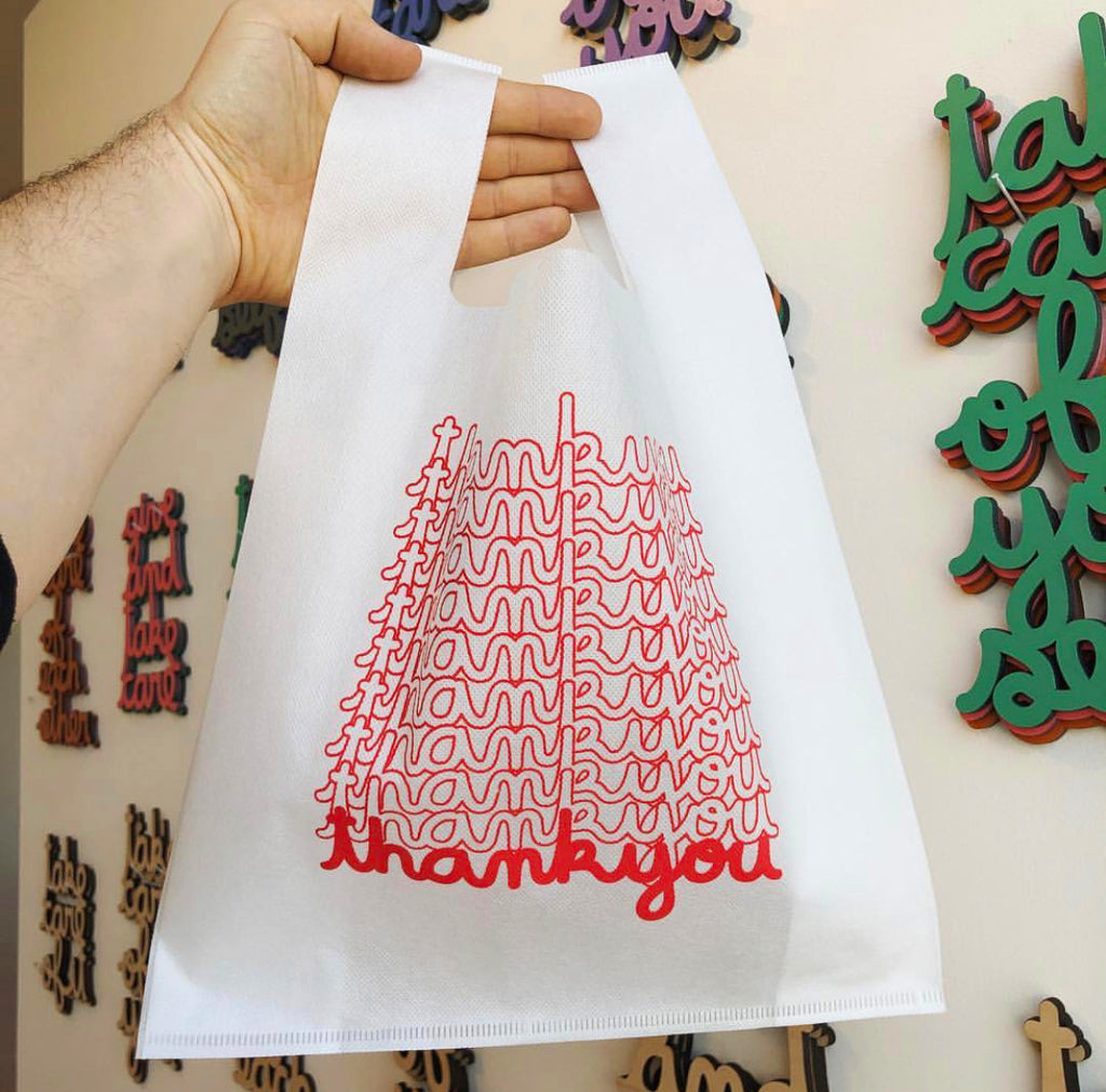 Thank You Reusable Bag